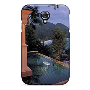 Galaxy High Quality Tpu Case/ Jacuzzi Beach Villa NoW4887IYkl Case Cover For Galaxy S4
