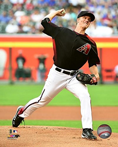 (Zack Greinke Arizona Diamondbacks MLB Action Photo (Size: 8