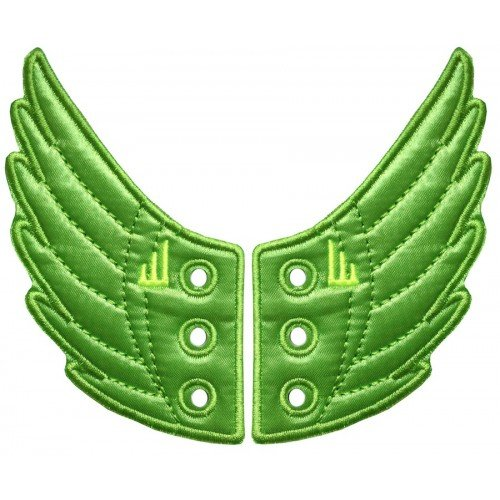Green Apple Foil Windsor Shwings