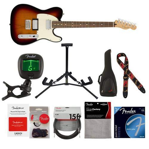 Fender Player Telecaster HH Electric Guitar, 22 Frets, Modern