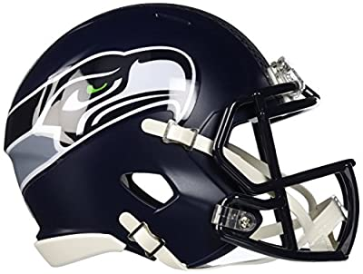 Riddell Mini Football Helmet - NFL Speed Seattle Seahawks