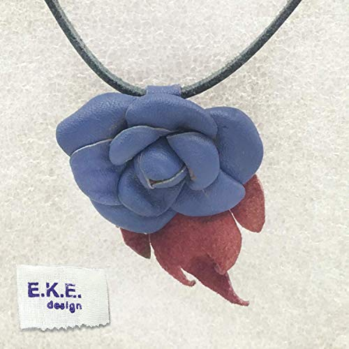 E.K.E. LEATHER NECKLACE | WOMEN'S FASHION JEWELRY | NATURAL LEATHER NECKLACE PENDANT | Pure leather craft, forged in leather and fire | WOMEN'S LEATHER ACCESSORIES | UNIQUE JEWELRY from EKE