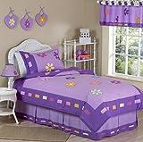 Sweet Jojo Designs 4-Piece Danielle's Daisies Children's Girls Twin Bedding Set