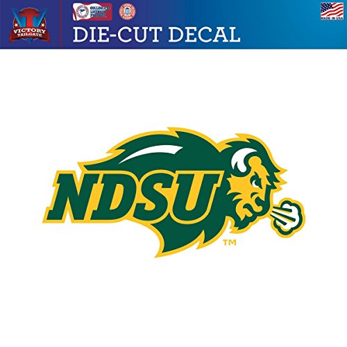 North Dakota State Univ. NDSU Bison Die-Cut Vinyl Decal Logo