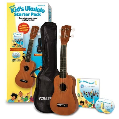 Alfred Music Publishing Kid's Ukulele Course, Complete Starter Pack 39306