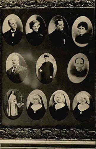 Portraits of Religious Leaders Original Vintage Postcard