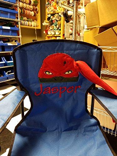 Personalized Bat Girl Folding Chair (CHILD SIZE)