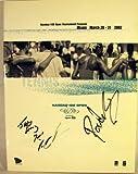img - for Nasdaq 100 Open Tennis Tournament Program Miami March 20-21 2002 book / textbook / text book
