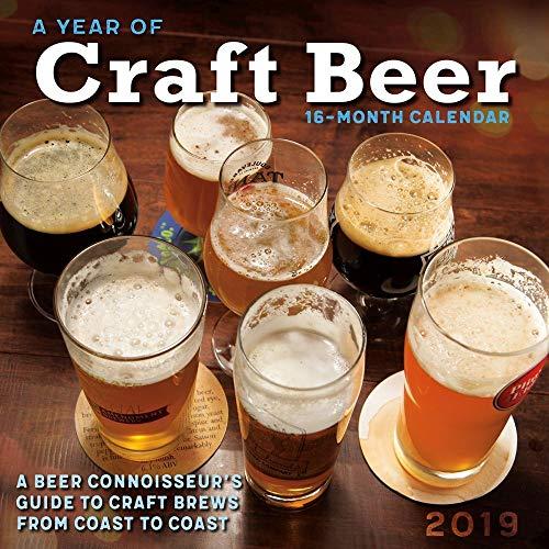 A Year of Craft Beer 2019 Wall Calendar