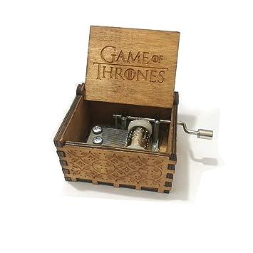 ... Pura Juego de Tronos clásico Caja de música Mano Caja de música de Madera artesanía de Madera Creativa Mejores Regalos,Game of Thrones: Amazon.es: Hogar