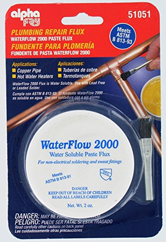(Alpha Fry AM51051 Water Soluble Flux &)