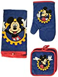 Best Mickey    Holders - Disney Mickey Mouse Blue Gear 4-pc Kitchen Set: Review