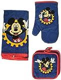 Disney Mickey Mouse Blue Gear 4-pc Kitchen