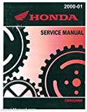 61MCJ01 2000-2001 Honda CBR929RR Motorcycle Service Manual