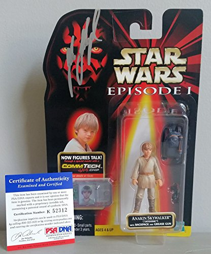 Jake Lloyd signed autograph Star Wars Episode 1 Anakin Figurine PSA Certified