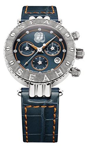 Seah-Galaxy-Zodiac-sign-Gemini-38mm-Stainless-Steel-Swiss-Luxury-watch