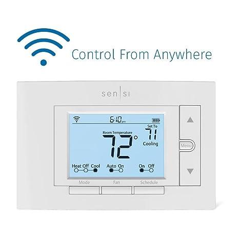 Emerson Sensi Wi Fi Thermostat For Smart Home Amazon Com