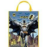 13'' x 11'' Large Plastic Batman Goodie Bags, 12ct