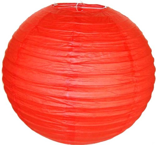 Just-Artifacts-20-Red-ChineseJapanese-Paper-LanternLamp-20-Diameter-Just-Artifacts-Brand