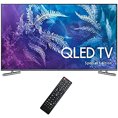 "Samsung (QN49Q6FAMFXZA) Special Edition 49"" Class Q6F QLED 4K TV (2017 Model) with Solo X3 Bluetooth Home Theater Sound Bar + 6ft HDMI Cable + Universal Screen Cleaner for LED TVs"