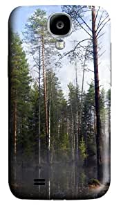 Case for Samsung Galaxy S4-Forest Mist At Morning Polycarbonate Hard Case Back Cover for Samsung Galaxy S4/ SIV / I9500
