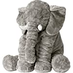 Rainbow Fox Stuffed Elephant Plush Doll Toy Grey Elephant Toys Stuffed Animals Toys Elephant Plush Toys
