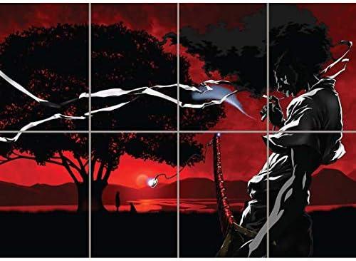 "Japanese Anime Manga 38/""x24/"" Poster 026 Afro Samurai"