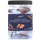 Tara's All Natural Handcrafted Gourmet Bourbon Flavored Caramel: Small Batch, Kettle Cooked, Creamy & Individually Wrapped - 11.5 Ounce