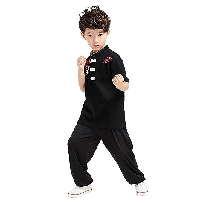 Meijunter Chino Kung Fu Traje - Tai Chi Uniforme Artes Marciales Rendimiento Competencia Ropa