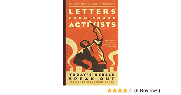 Letters From Young Activists Chesa Boudin Kenyon Farrow