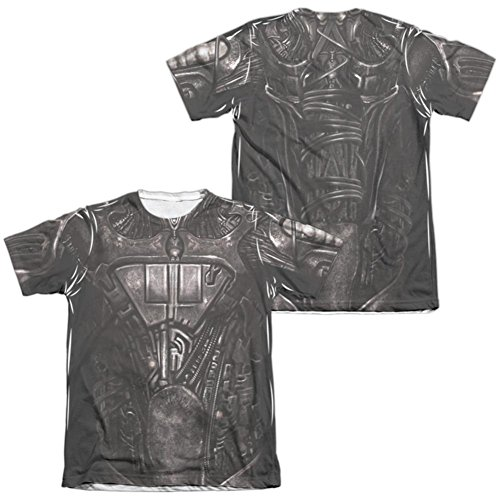 Star Trek Borg Costumes (Star Trek- Borg Costume Tee (Front/Back) T-Shirt Size S)