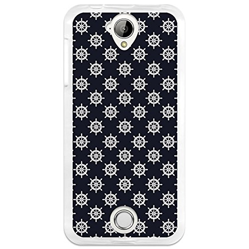 BeCool - Acer Liquid Z330 Case Soft Rubber Gel TPU Silicone Case Cover for Acer Liquid Z330 White Rudder Wheels