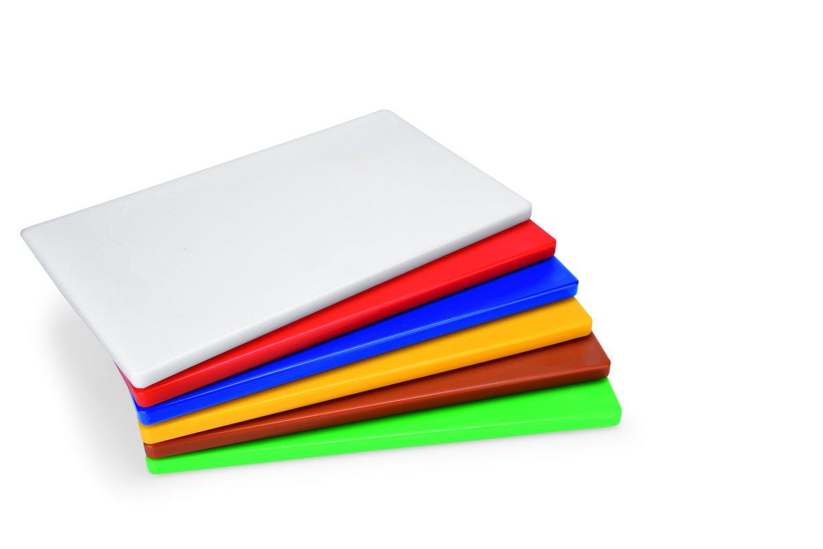 et deux ou trois diff/érentes dimensions//dimensions: 1: 50/&nbs Blanc, Rouge, Bleu, Jaune, Marron ou vert HACCP Planche /à d/écouper en poly/éthyl/ène/ /avec pieds anti-d/érapants en plusieurs couleurs