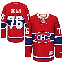 NHL 76 PK Subban Youth Boys 8-20 Montreal Canadiens Player Replica Jersey Red color Size XL