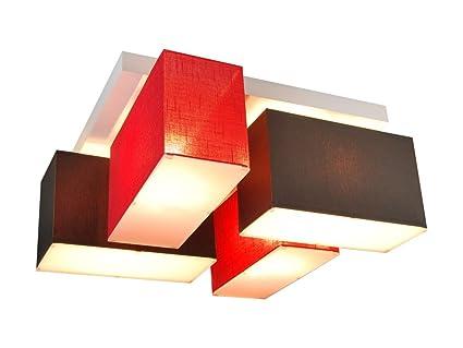 Soffitto lampada con blenden blejl s d in legno massiccio casa