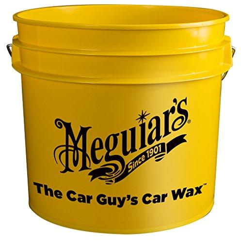 Meguiar's Yellow Bucket, 3.5 gallon capa - Meguiars Water Magnet Shopping Results
