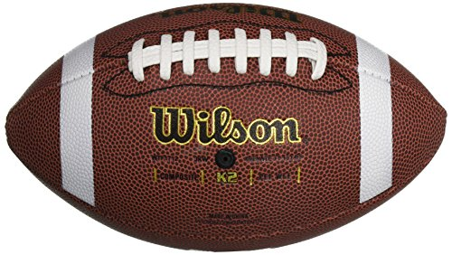 WILSON K2 Composite Football - - Composite Pee Wee Football Leather
