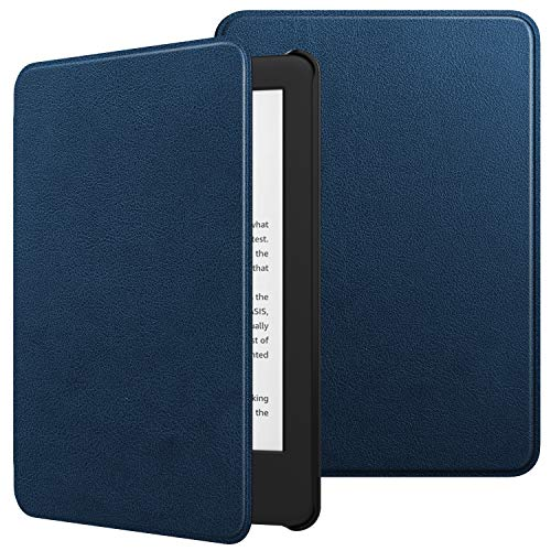 (TiMOVO Case Fits All-New Kindle (10th Generation, 2019 Release), Premium Thin Lightweight Leather Cover with Auto Wake/Sleep Fits Amazon Kindle, Not Fit Kindle Paperwhite - Indigo)
