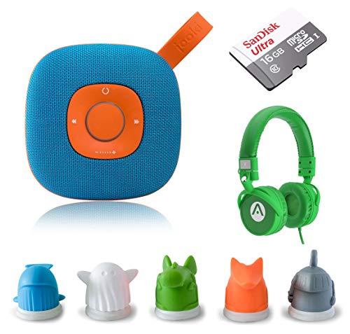 Speaker - Simply The Best Music Player for Kids Screen-Free Music & Stories with ToyTouch Technology, A7 Headphones and 16GB microSD Card ()