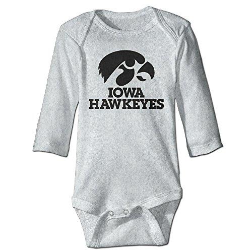 Iowa Hawkeyes Unisex Baby Short Sleeve Bodysuit (0-24 Months)