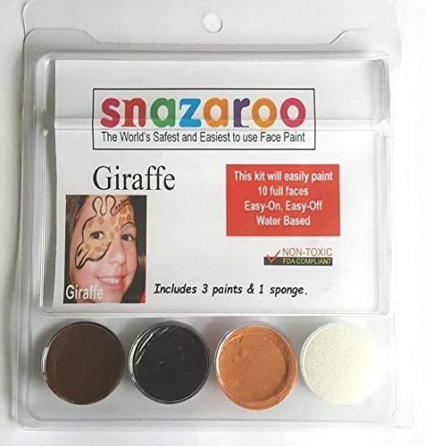 Snazaroo Giraffe Face Paint Kit with Sponge ()