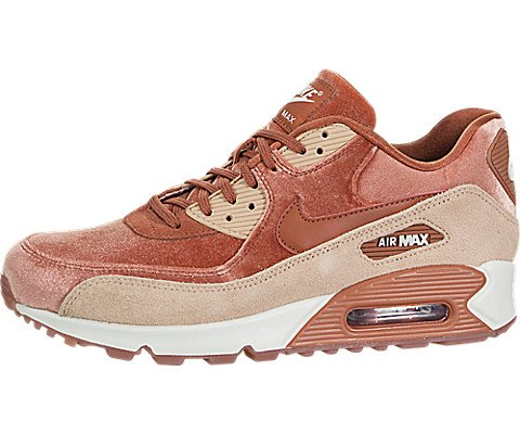 Dusty Peach - NIKE WMNS Air Max 90 LX 898512-201 Dusty Peach Suede Women's Shoes (6)