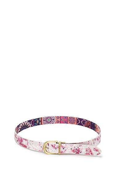 Desigual Ceinture femme Belt Calm Reversible 19SARP11 95 violet  Amazon.fr   Vêtements et accessoires 5cd1e7eb238