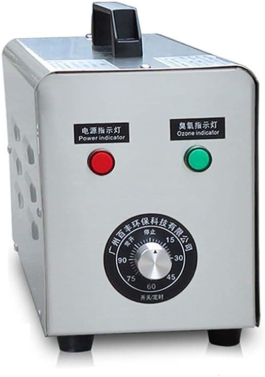 XINJING Generador de ozono Industrial 5000Mg, esterilizador ...