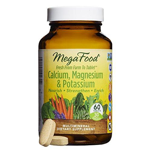 Bone Support 60 Tablets (MegaFood - Calcium, Magnesium & Potassium, Supports Healthy Bones & Muscles, 60 Tablets)