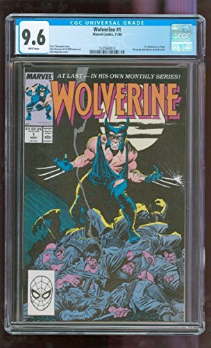 CGC 9.6 NM+ WOLVERINE #1 (MARVEL COMICS, 11/1988) 1ST WOLVERINE AS PATCH by Unknown