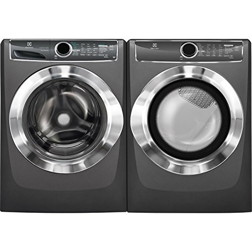 Electrolux Front Load Washer and Electric Dryer Set EFLS617STT and EFME617STT