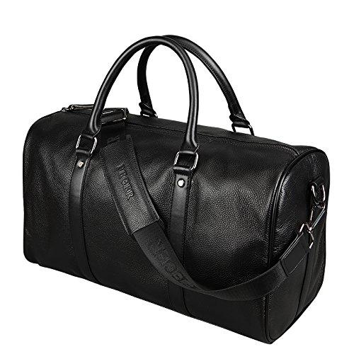 バッグ メンズ ショルダーバッグ 手提げバッグ ビジネスバッグ ブリーフケース 斜めがけバッグ メッセンジャーバッグ カジュアル 大容量 牛革 ブラック B01HG88W62
