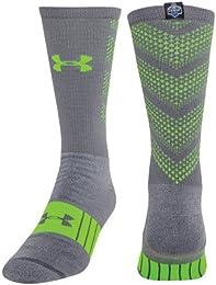 Best Discount Men Nfl Combine Authentic Socks Medium Graphite