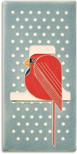Cool Cardinal Decorative Tile